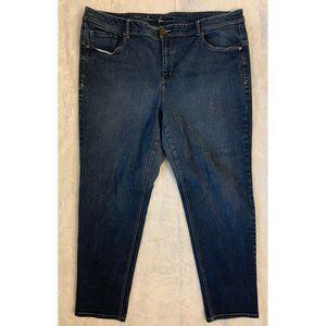 Lane Bryant Womens Jeans Blue Skinny Plus Size 26W